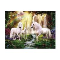 Quality Runnig Horse 3D Lenticular Pictures For House Decorative 0.6mmPET for sale