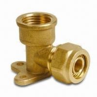 Buy cheap Brass Elbow Seat Pex-Al-Pex Fitting with 1/2, 3/4 and 1-inch Thread Dimensions from wholesalers