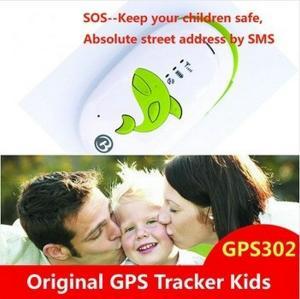 China GPS302 Kids Child Elderly Safety Mini GPS SMS Tracker W/ SOS Button & 2-Way Communication wholesale