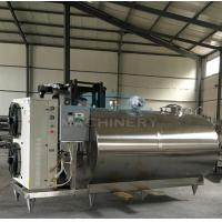 China Professional Small Scale Milk Processing Machine Equipment For Sale Stainless Steel Milk Cooling Tank/Milk Cooling Tank wholesale