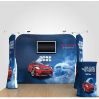 China 8Ft 10Ft 15Ft Tension Fabric Displays Trade Show Booth Displays Waterproof wholesale