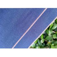 China Yarn Dyed Hemming Denim Chambray Fabric Light Blue Color 100% Cotton Material wholesale