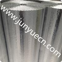 China ceiling aluminium air bubble foil wrap roll prefab chicken farm reflective heat thermal roof insulation material Customs wholesale