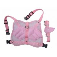 China Fashion angel wing dog harness with leash pink and blue 2 sizes 30pcs/lot wholesale
