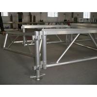 China Tourgo high quality concert supplies aluminum non-slip staging supplies adjustable staging platform wholesale