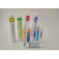 Colorful Packaging Aluminum Collapsible Tubes for Hand Cream / BB Cream / Toothpaste