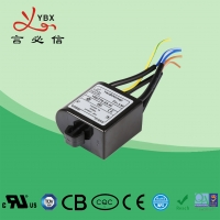 China Yanbixin Microwave Ovens AC Power Line Noise Filter 16A 120V/250V Compact Size wholesale