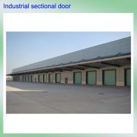 China remote control high quality color steel exterior polyurethane foam industrial electric overhead used garage doors sale on sale