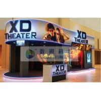 China 7D 8D 9D Motion Simulators XD Theatres with PU leather / real leather Motion chairs wholesale