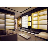 China Retail Store Fixtures / Handbag Display Cabinet With Professional 3D Design wholesale