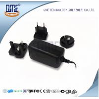 China Wall Mount AC DC Switching Power Supply 12v 2a With Interchangeable Plugs wholesale