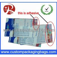 China Recyclable Clear Custom Packaging Bags , Printing OPP Packaging Bags on sale