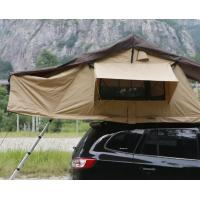 China Portability 2-3 Person Large Roof Top Tent High Strength For 4x4 Accessories wholesale