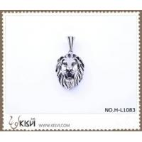Quality 316 stainless steel pendant with lion shape H-L1083 for sale