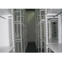 Light duty slotted angle shelving for storage warehouse