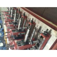 China Home Gas Transportation Pipe Roll Forming Machine 0.3mm Wall wholesale