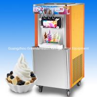 China Beautiful Appearance Ice Cream Making Machines / Ice Cream Maker With Hopper Agitator wholesale