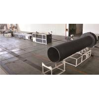 Quality Large Diameter Pipe Production Line For PVC Water Supply Pipe for sale