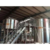Quality High Efficiency Craft Beer Large Scale Brewing Equipment Siemens Control System for sale