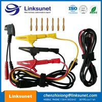 China Alligator Clip Injection Wiring Harness UL94 - V0 PVC Material 4.0MM PIN wholesale