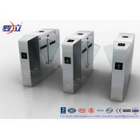 China Metal Security Flap Barrier Gate  Access Control System With Fingerprint wholesale