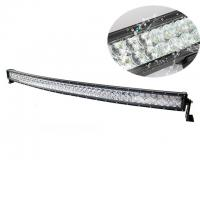 China 52'' 288W 25920lm 5D Curved LED Light Bar Black Color Housing Water Resistant wholesale