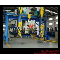China Automatic Movable Gantry Welding Machine 18m Rail For H Beam Production Line wholesale