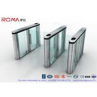 Quality Slim Speed Gate Turnstile , Access Management Automatic Swing Gates with for sale