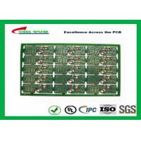 China 2 Layer PCB Board FR4 2.0MM Gold Surface Finish General Purpose PWB  Board wholesale