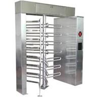China 220v CE Security Card Reader Full Height Turnstile With Manual Or Electric Operation wholesale