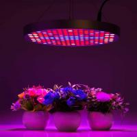 China Marijuana UFO LED Grow Lights With Alluminum / PC Materials , Dia 33x H3 cm wholesale
