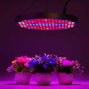 China Marijuana UFO LED Grow Lights With Alluminum / PC Materials , Dia 33x H3 cm wholesale