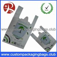 Quality Compostable Custom Printed Heavy Duty Shopping Bags Plastic Biodegradable for sale