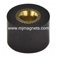 China plastic Injection bonded magnet for automotive wholesale