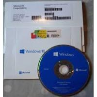 China Genuine Windows 10 Home 64 Bit DVD 1 license OEM , Full Package Operating System wholesale