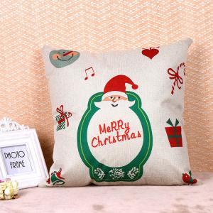 Printed Pillow Cushion Covers , Christmas Series Decorative Sofa Pillows
