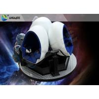 China Gorgeous Splendid Outdoor 9D VR Cinema 360 Degree Rotation Customize wholesale