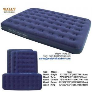 China Air Bed, Inflatable Air Bed, Air Mattress, Inflatable Air Mattress, Flocked Air Bed on sale