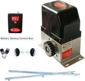 China DC&AC 800kg Battery Backup Sliding Gate Operators wholesale