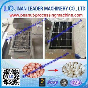 China High Peeling Rate Peanut Peeling Machine For Peanut, Almond, 400kg/h wholesale