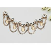 China Fashionable Shoe Accessories Chains Elegant Exquisite Environmental Plated wholesale