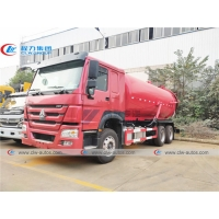 China 5000 Gallons Howo 336HP sewer cleaning truck With Moro Kaiser Pump wholesale