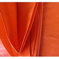 China orange color&100% new material polyethylene tarps/tarpaulin fabric sell to UAE wholesale