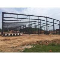 Wide Span Structure Pre Fab Workshop Industrial Building Warehouse