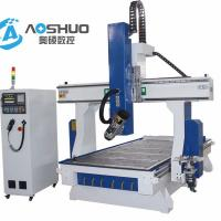 China 4.5KW Vacuum Table 3d Wood Cnc Router Machine 1325 For Plate Furniture Industry wholesale