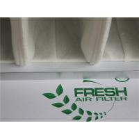 Quality White Pocket Air Filter HEPA Pre Filtration System Polyester Filter Bags for sale