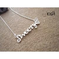China hot selling jewelry 925 sterling silver necklace W-VD185 wholesale