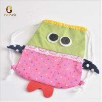 China 18 inch American girl doll accessory, high quality cotton cartoon doll bag wholesale