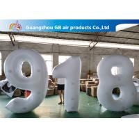 China Outdoor Advertising Inflatable Letters And Number Airtight For Sale wholesale