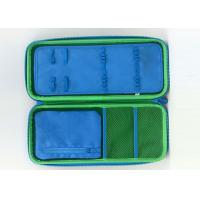 Quality PU Surface Hard Shell Pencil Case With Zipper , Screeing Printing Logo for sale